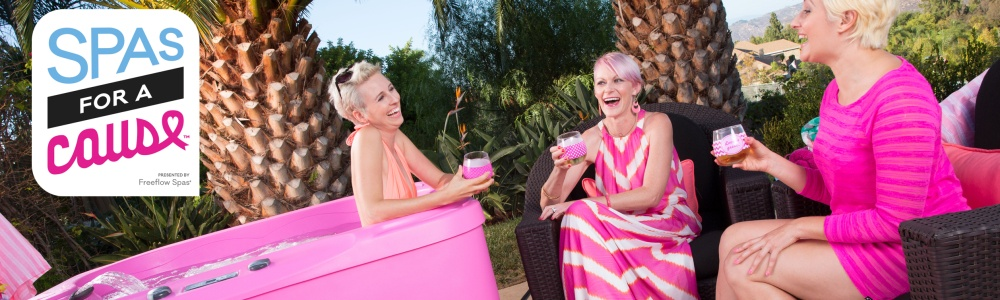 Pink Spas for Breast Cancer Awareness Month!