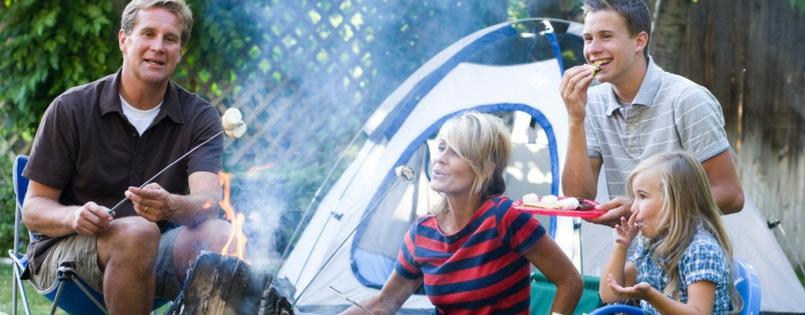 Backyard Camping? Heck yeah!